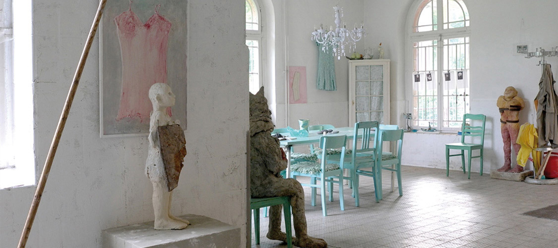 Atelier Elke Geide - Blick in den Workshop-Raum