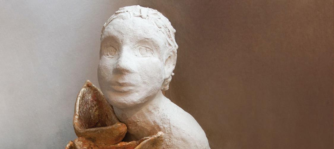 Keramische Plastik von Elke Geide